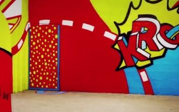 Bière K by Kronenbourg, une pub zn stop-motion avec du street art
