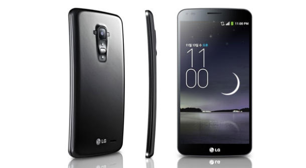 LG G Flex, le smatphone flexible