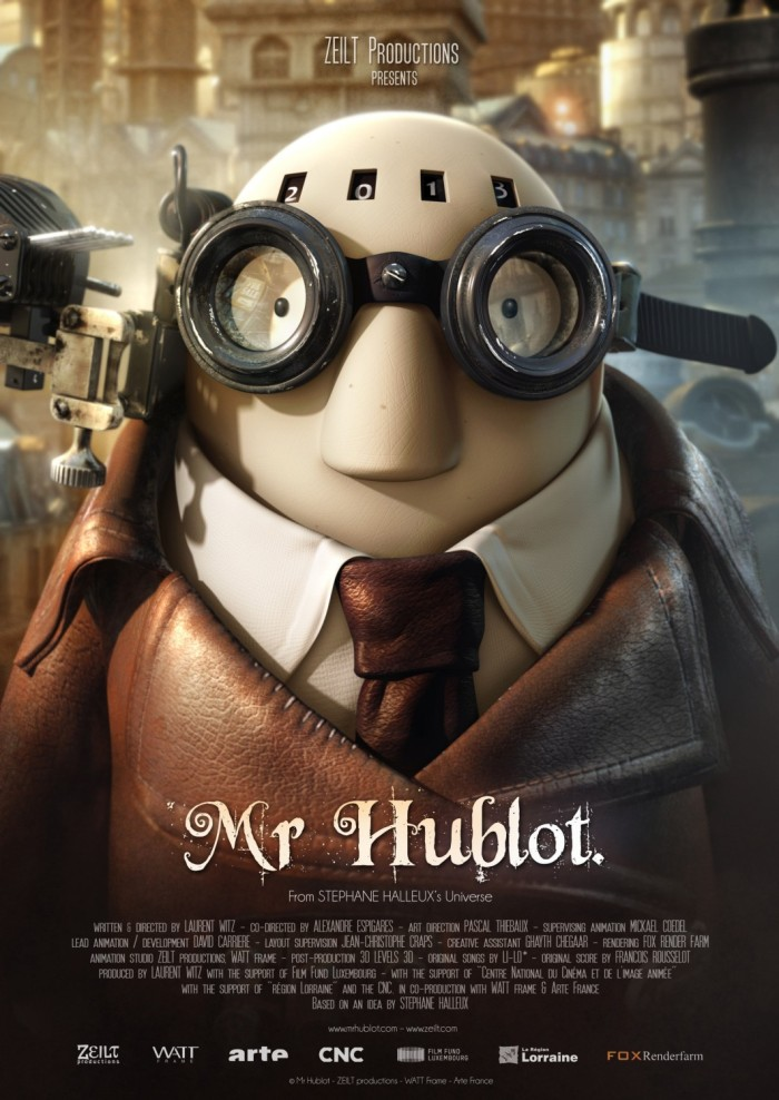 mr hublot : l'affiche du film
