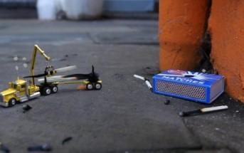 Tiny Worlds : des mini véhicules nettoient les rues de Londres