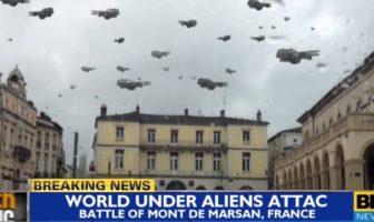 world battle mont-de-marsan invasion d'aliens parodie