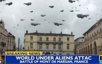 world battle mont-de-marsan invasion d'aliens parodie