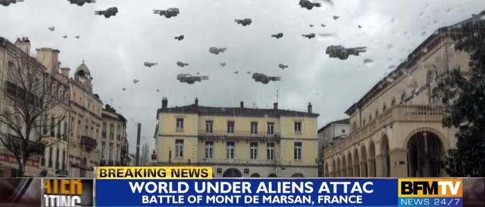 World Battle Mont-de-Marsan : invasion d'Aliens dans les Landes