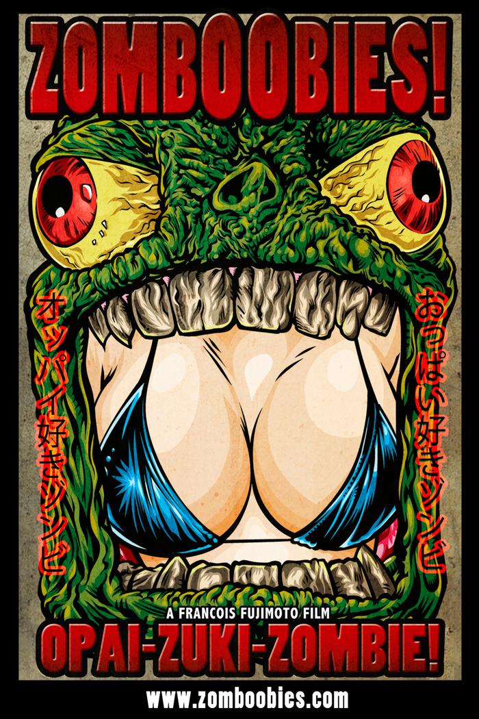zomboobies : affiche du film