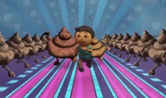 Take The Poo To The Loo : le clip d'animation d'UNICEF Inde avec des caca et des crottes