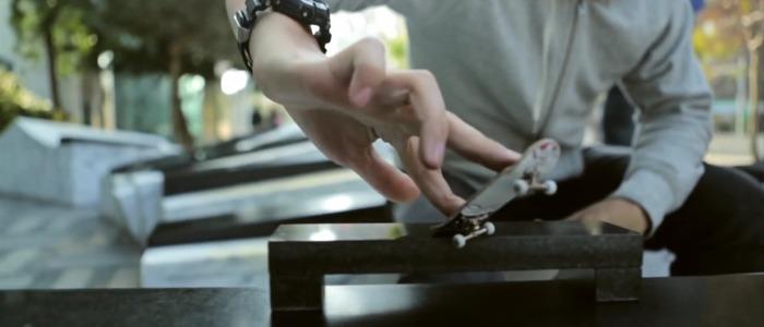 fingerboarding in taiwan : du skate avec les doigts