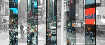 para l l el : court étrage avec des villes sans hommes par Claire&Max