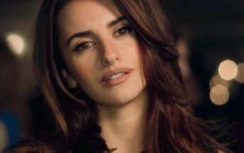 Penélope Cruz nouvelle égérie Schweppes... What did you expect ?
