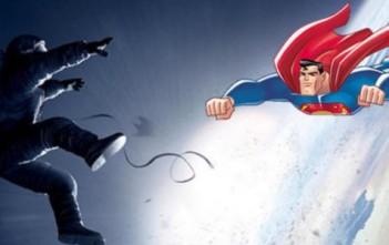 superman sauve Sandra Bullock dans Gravity