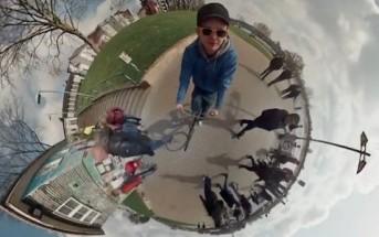 Un timelapse panoramique sphérique à 360° avec 6 caméras GoPro