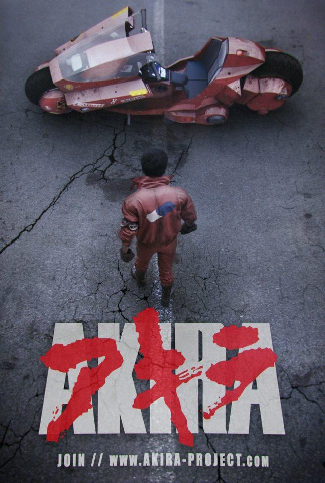 akira poject : affiche du fan film