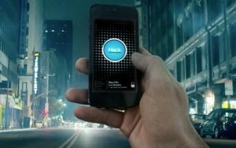 Il contrôle la rue avec son smartphone [caméra cachée Watch Dogs]