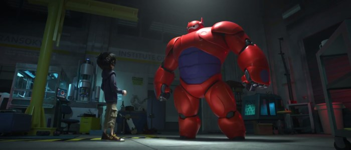big hero 6 : disney + marvel