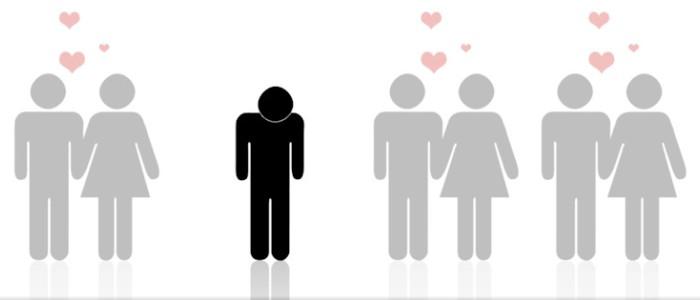Célibataires statistiques