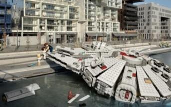 La ville de Lyon envahie par des legos Star Wars [retouche photo]