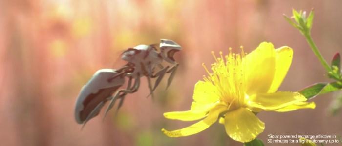 newbees : abeille robot de greenpeace