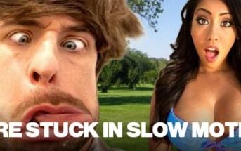 Humour : ils sont coincés en slow motion [Smosh]
