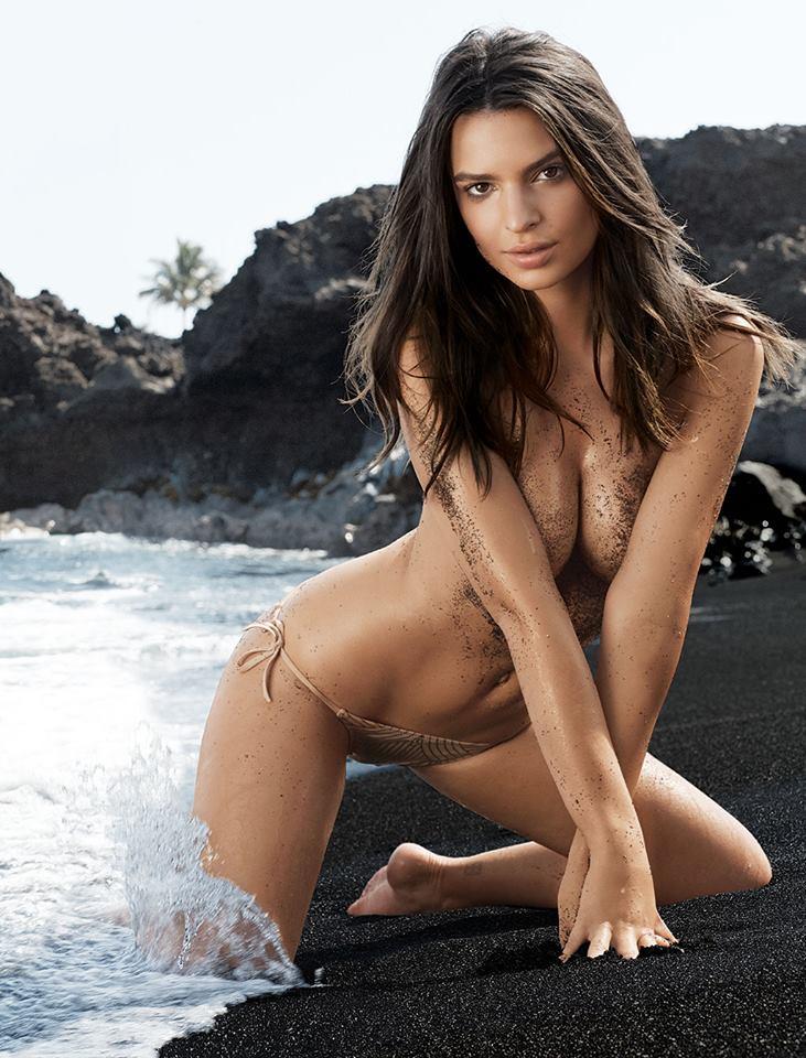 Emily Ratajkowski nue à Hawaï : la bombe de l'été 2014 pour GQ