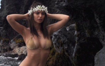 La bombe de l'été Emily Ratajkowski nue dans GQ [photos + vidéo]