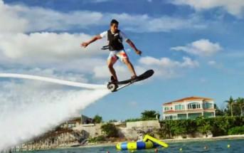 Hoverboard aquatique : voler sur l'eau devient une réalité