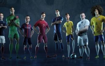 The last game : film d'animation Nike pour la coupe du monde
