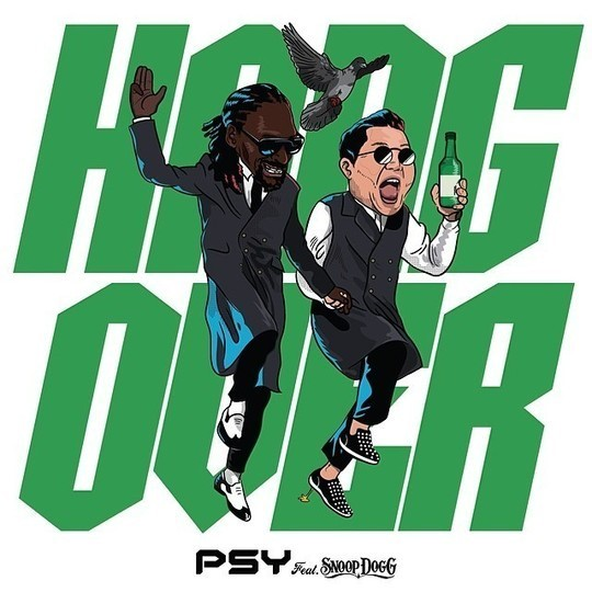 PSY fr. Snoop Dogg, le single Hangover