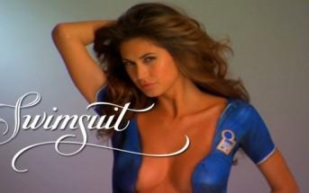 Bodypaint sexy coupe du monde : des filles nues en maillot de foot