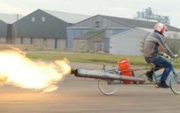 Colin Furze l'inventeur fou sur son jet bike