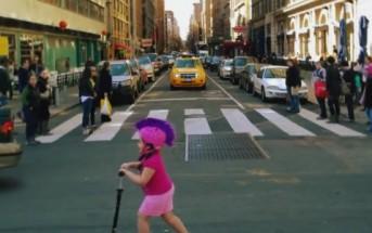 Living moments : vidéo renversante de New-York en bullet time