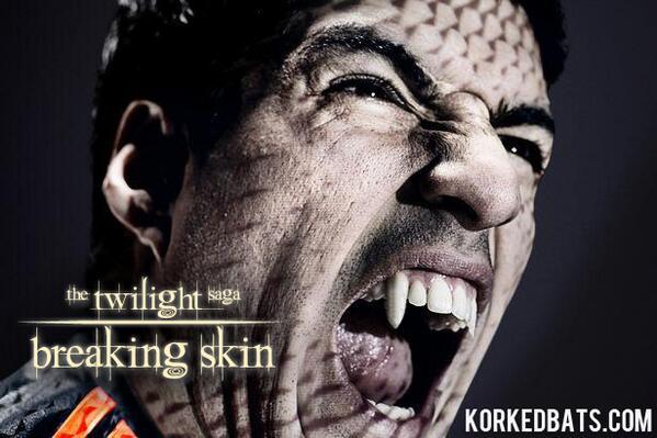parodie morsure suarez vampire twilight