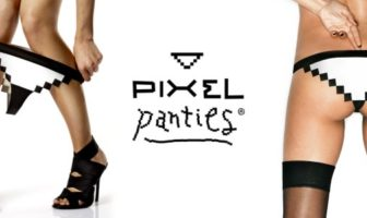 pixel panties : culotte sexy pour geekette en 8 bit