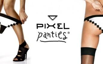 Pixel Panties : une culotte sexy en 8 bit pour geekette