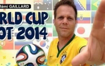 Trickshots de Rémi Gaillard pour la coupe du monde. Fake ?