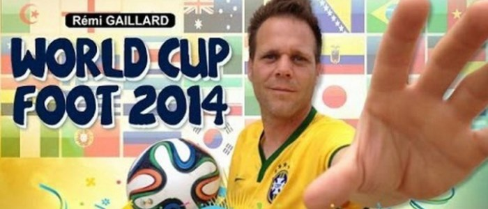 Rémi Gaillard - world cup 2014 trick shots