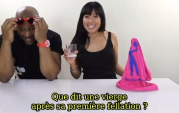 "Tipsy Bartender avec Kristina ""Mahal"" Joy et sa blague vierge et fellation..."