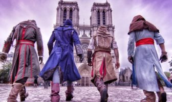 assassin's creed unity parkour à paris