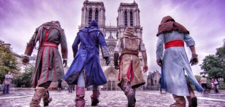 assassin's creed unity parkour à paris
