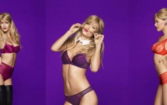 Bar Refaeli se la joue sexy et coquine en lingerie passionata 2014