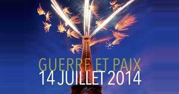 Revoir le feu d'artifice de la Tour Eiffel du 14 juillet 2014 en vidéo