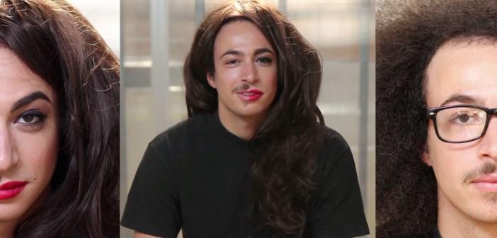 maquillage de femme en homme
