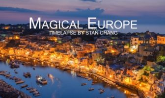 Magical Europe - Timelapse par par Stan Chang