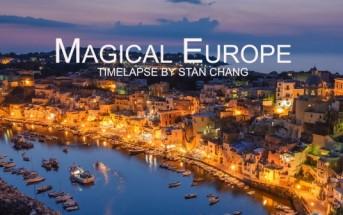 Timelapse Magical Europe : voyagez dans 30 pays en 4 minutes