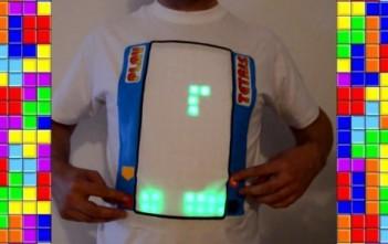 tshirt tetris jouable interactif