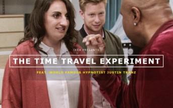 IKEA hypnotise ses clients et les fait voyager dans le futur