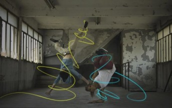 Stripe me up : l'application de light painting par stabilo