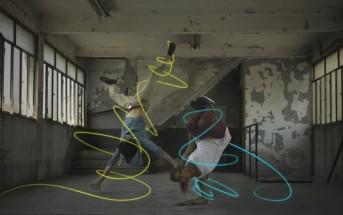 Stripe me up : l'application de light painting par stabilo