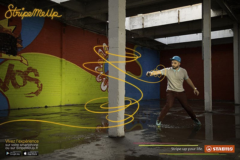 stabilo stripe me up : graffeur