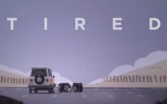 Tired : la dure vie d'une roue de secours [Animation]
