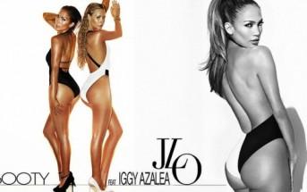 Clip Booty : Jennifer Lopez remue ses fesses avec Iggy Azalea