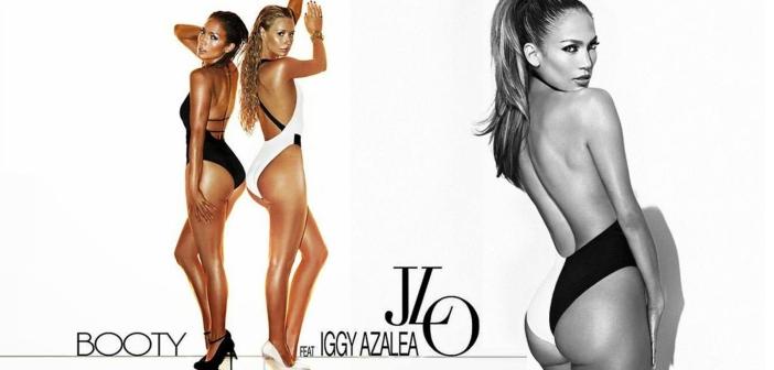Les fesses de Jennifer Lopez ft. Iggy Azalea dans le clip Booty